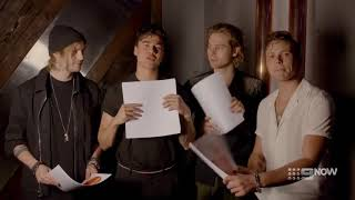 5 Seconds Of Summer play 'which coach would you rather' on the voice Australia