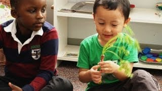 A Critical Head Start for Pre-Schoolers: Eating Healthy Foods