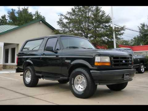 1996 Ford Bronco 4x4 With Low Miles At Prestige #352 694 1234   YouTube