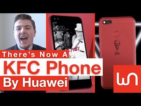 There's Now A KFC Phone By Huawei