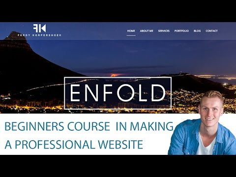 How to create a WordPress website with the Enfold Theme
