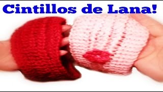 cintillo o diadema de lana tejido con dos agujas how to knit a headband with two needles