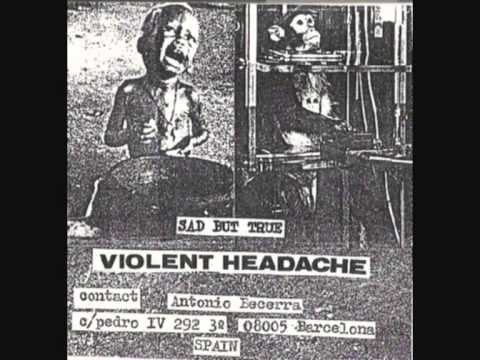 VIOLENT HEADACHE - Sad But True (demo '88)
