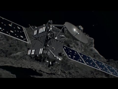 Scientists celebrate successful end to Rosetta spacecraft's comet mission