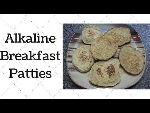 Breakfast Patties Dr Sebi Alkaline Electric Recipe - YouTube
