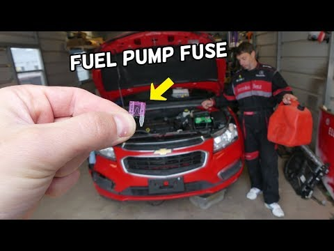 CHEVROLET CRUZE FUEL PUMP FUSE LOCATION REPLACEMENT. CHEVY CRUZE DOES NOT START