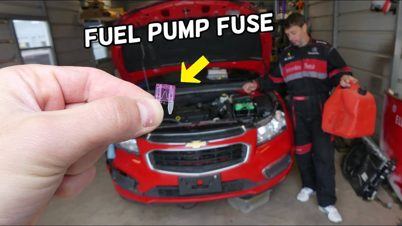 Chevrolet Cruze Fuel Pump Fuse Location Replacement Chevy Cruze