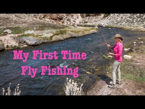 My First Time Fly Fishing   Hot Creek Mammoth