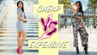 $400 SUMMER FASHION HAUL | Cheap vs Expensive... Can you tell the difference?!! 😱