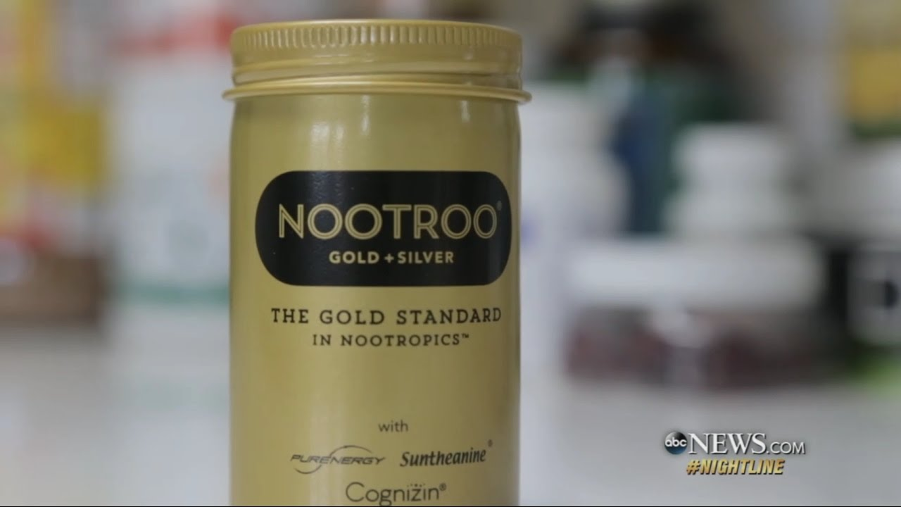 Nootroo Featured On An Abc Nightline News Segment On Nootropics