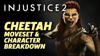 Injustice 2 - Official Cheetah Character Moveset And Breakdown