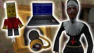 СЕКРЕТНЫЕ ПАСХАЛКИ НОУТБУК WINDY31 НАУШНИКИ И ЧЕЛОВЕЧЕК LEGO! - The Nun Монахиня Evil Nun