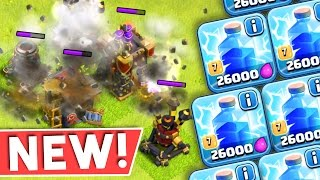 Clash of Clans :: NEW UPDATE SNEAK PEEK :: LIGHTNING SPELLS BETTER THAN EVER!!