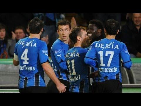 2010-2011 - Club Brugge - KV Kortrijk - GOAL Jonathan Blondel