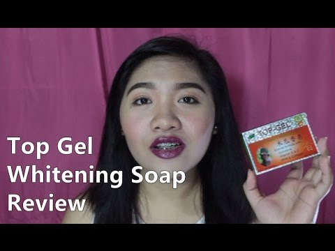 BEST WHITENING SOAP BES!! Top Gel Original Whitening Soap Review (TAGALOG)