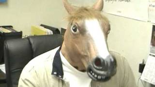 Horsin' Around with the Horse Mask!