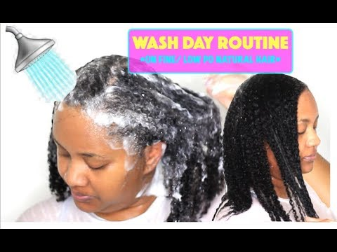 simple wash day routine