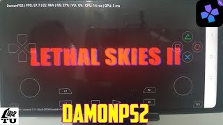 Lethal Skies II DamonPS2 Pro PS2 Games on smartphones/Android/Gameplay