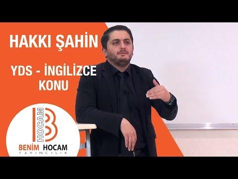 32) Conjunctions -Bağlaçlar -I- Hakkı Şahin (2018)