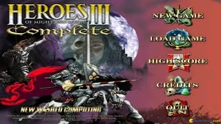Heroes of Might and Magic 3 gameplay (PC Game, 1999)
