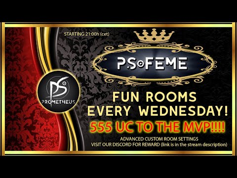 PS FEME FUN ROOM UC GIVEAWAY!!! Starting at 21:00 cet