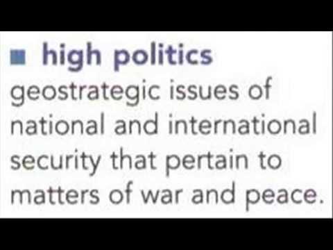 Political Realism + Economic Mercantilism = Conservatism