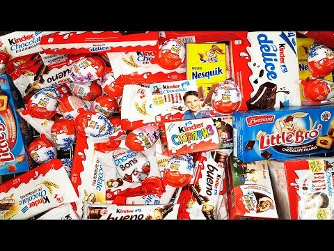 New! A Lot Of CANDY 2018 Киндер...