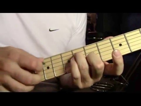 Born on the Bayou Creedance Clearwater Revival guitar lesson