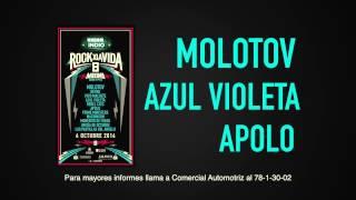 Promocional Rock por la Vida y Comercial Automotriz