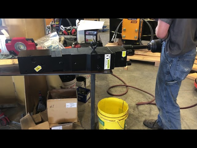 O Ring Rebuild video 5 by Montana Post Driver