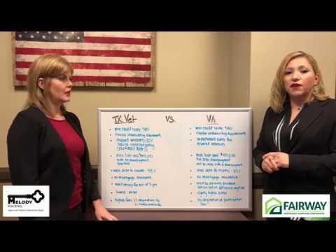 VA vs. TX Vet Home Loan Programs