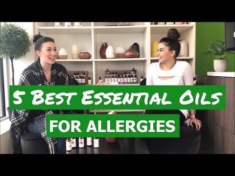 5 Best Essential Oils for Allergies | DIY Spring Blend