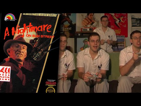A Nightmare On Elm Street (NES) - Angry Video Game Nerd (AVGN)