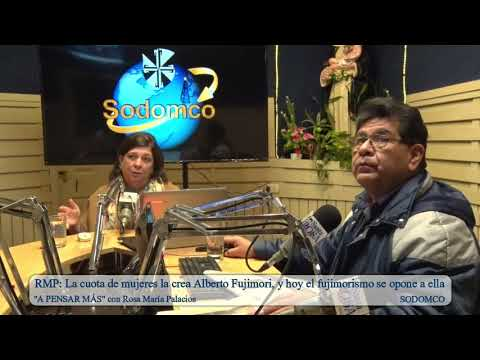 RMP: La cuota de mujeres la crea Alberto Fujimori, y hoy el fujimorismo se opone a ella