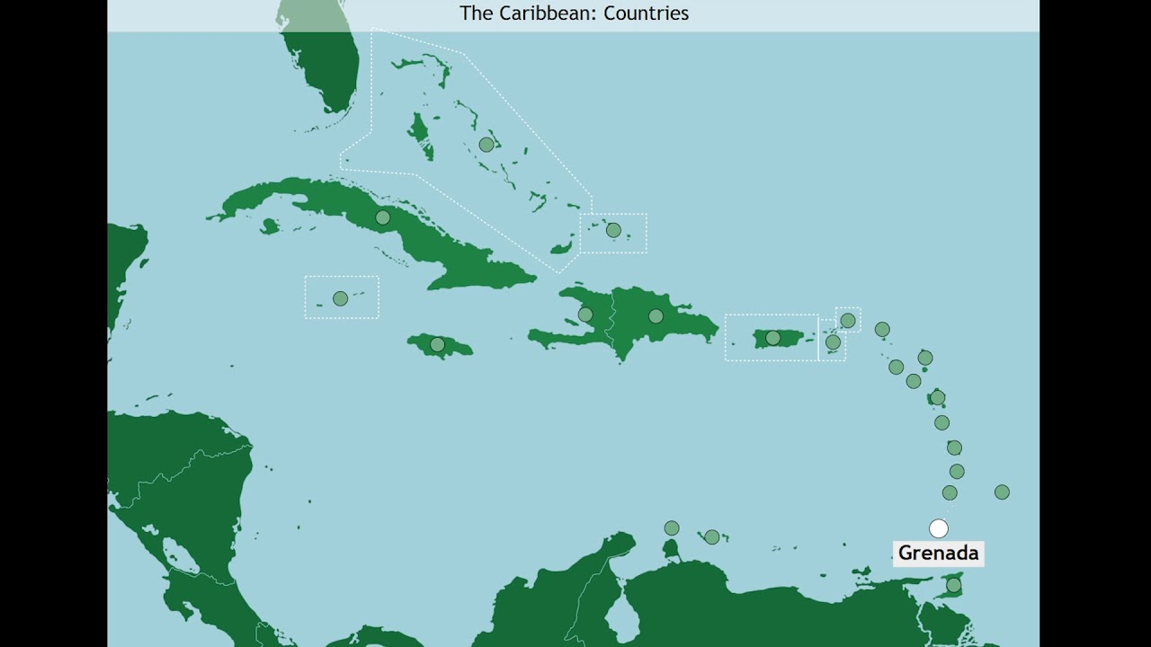 The Caribbean: Countries (A-Z) - YouTube on