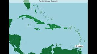 The Caribbean: Countries (A-Z)