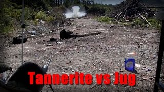 Tannerite Under a Gallon of Water in Slowmo