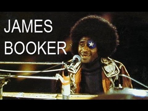 """James Booker New Orleans Blues Piano Legend """"Too Much Blues"""""""