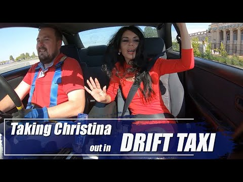 Taking Christina Out In Drift Taxi Skyline