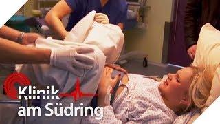 Dramatische Geburt: Baby Emily steckt fest! | Klinik am Südring | SAT.1 TV