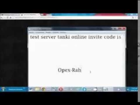 tankionline test server code youtube. Black Bedroom Furniture Sets. Home Design Ideas