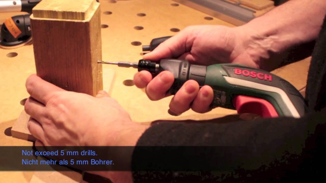 video 302 - ixo bosch - accessoire pour ixo - outil gadget ? - youtube