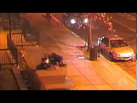 Drive-by shooting in DC caught on camera - YouTube