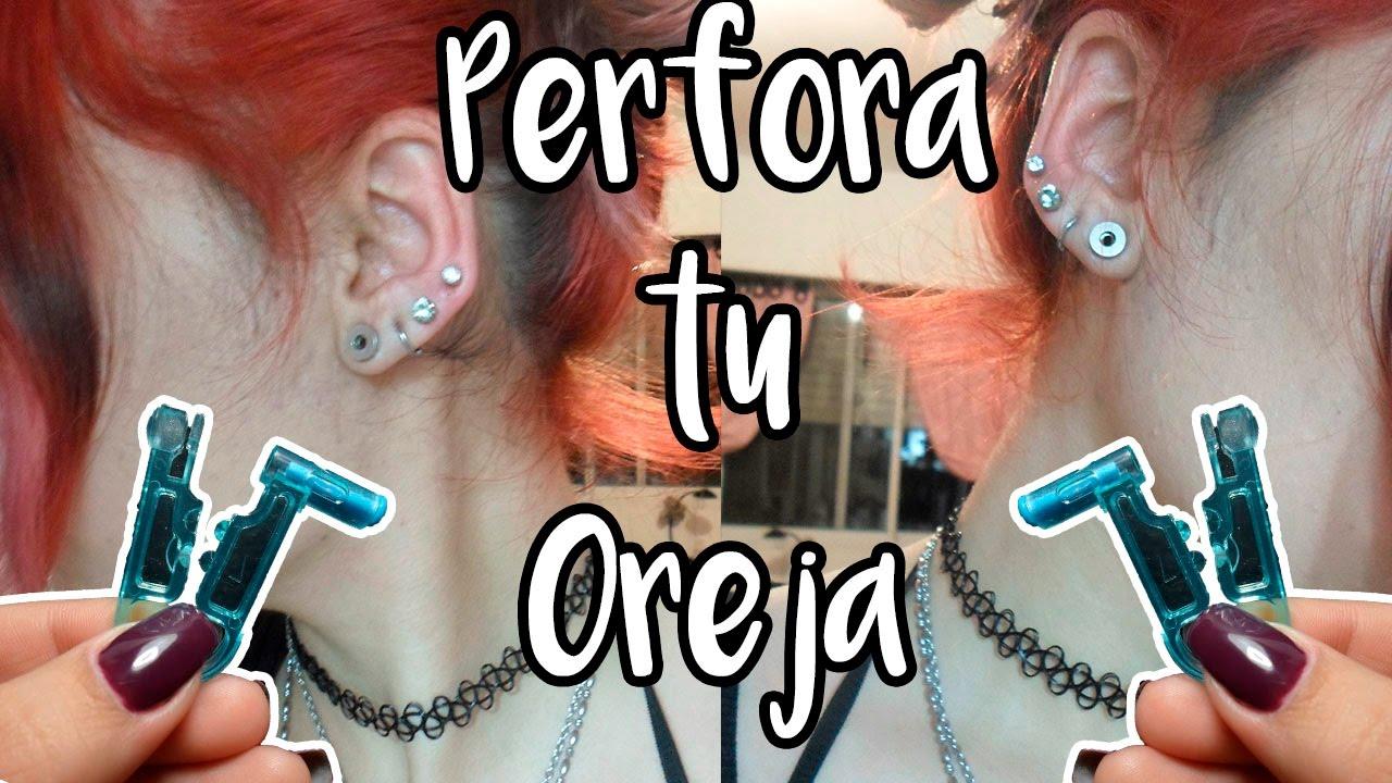 71210218563f Herramienta Para Perforar Las Orejas Sin Dolor - Bs. 600