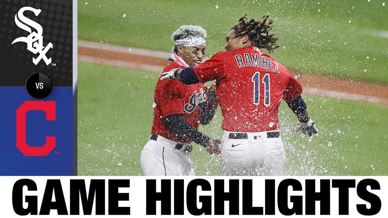 Indians clinch playoff berth on Ramírez's walk-off | White Sox-Indians Game Highlights 9/22/20