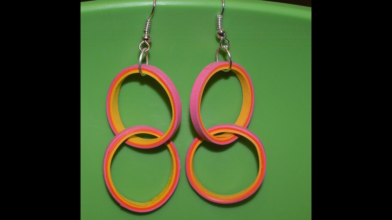 New :Craft Can Heal How to make Beautiful Quilling Twisted loop ...