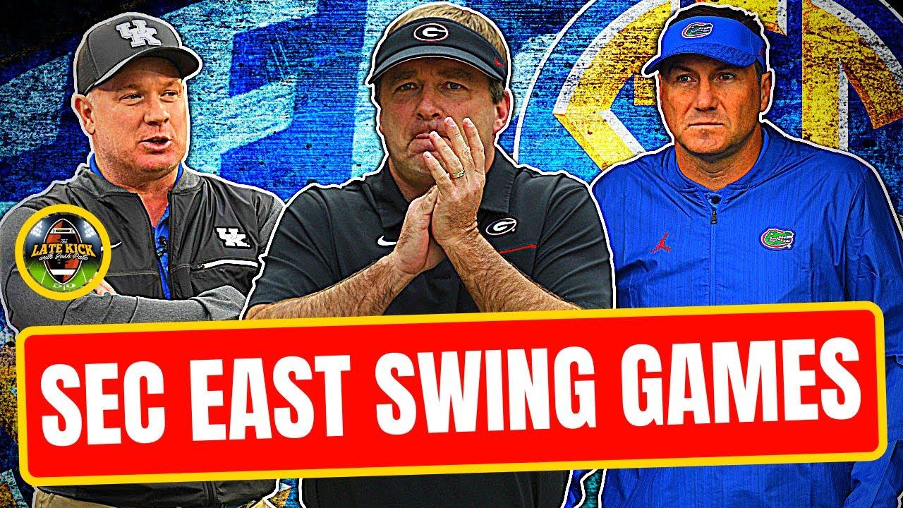 SEC East Biggest Swing Games In 2021 (Late Kick Cut)