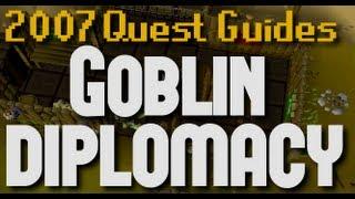 Runescape 2007 Quest Guides: Goblin Diplomacy