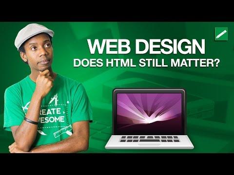 Web Design: Does HTML Coding Still Matter?