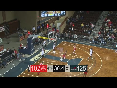 Larry Drew II (16 points) Highlights vs. Memphis Hustle